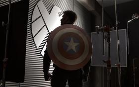 Картинка Captain America, Крис Эванс, Первый мститель, Chris Evans, Steve Rogers, The Winter Soldier, Другая война