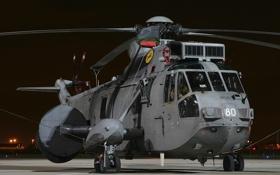 Картинка вертолёт, транспортный, Sea King, «Си кинг», ASaC.7