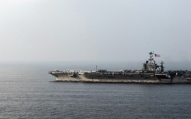Обои aircraft carrier, USS Harry S. Truman, оружие
