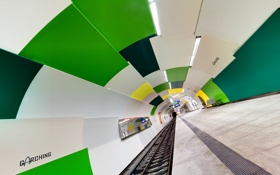 Обои метро, город, Munich