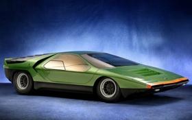 Обои Alfa Romeo, Carabo, Жужелица, Marcello Gandini, Альфа Ромео
