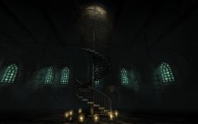 Картинка лестница, клетки, amnesia, амнезия