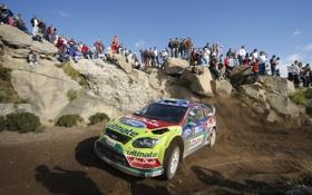 Обои argentina, камни, rally, focus, песок, ускорение, люди