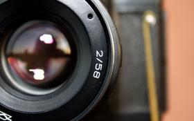 Картинка фотоаппарат, объектив, zenit, helios