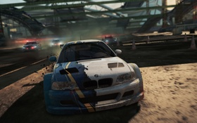Обои game, NFS, 2012, police, Most Wanted, Need for speed, BMW M3 GTR