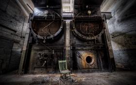Картинка стул, печь, фабрика