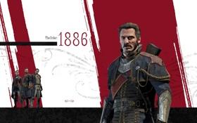 Обои оружие, солдаты, броня, рыцари, орден, PlayStation 4, Game Informer
