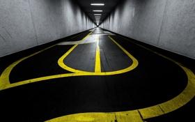 Обои дорога, город, underground