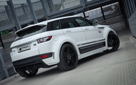 Картинка car, white, Land Rover, Range Rover, tuning, Evoque, Prior-Design