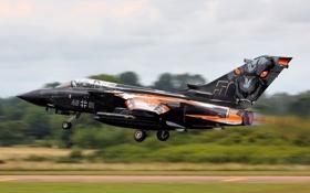 Картинка истребитель, бомбардировщик, взлет, Panavia Tornado