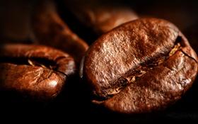 Картинка фон, кофе, зерна