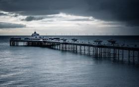 Картинка Wales, United Kingdom, Llandudno, Llandudno Pier