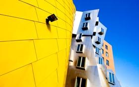 Обои архитектура, дом, окна, фрэнк гери