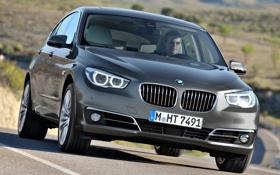 Картинка дорога, BMW, автомобиль, передок, xDrive, Gran Turismo, 535i