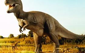 Обои животные, ненастоящие, юрский период, Динозавр