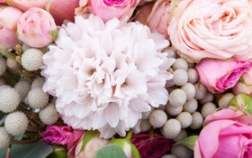 Картинка цветы, дизайн, букет, растения, флористика