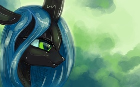 Обои автор, пони, My little pony, KP-ShadowSquirrel, Chrysalis