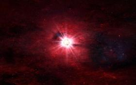 Обои бесконечность, свет, звезда, universe, вселенная