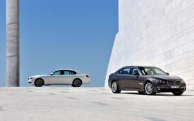 Обои Авто, BMW, Машина, Бумер, Серый, БМВ, День