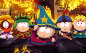 Обои игра, south park, THQ, Obsidian Entertainment, south park: the stick of truth