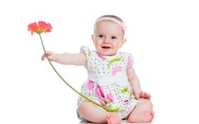 Картинка цветок, ребенок, girl, baby