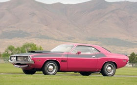 Картинка горы, Dodge, Challenger, классика, 1970, R-t Se