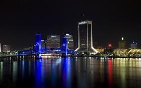 Обои city, город, USA, Florida, Jacksonville