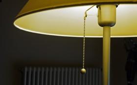 Обои светильник, фон, лампа, макро
