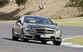 Обои Benz, Mercedes, widescreen, мерседесы, авто обои, CLS63 AMG