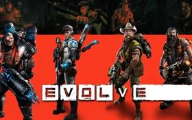Обои Medic, sniper, hunter, Support, Assault, Val, Hank