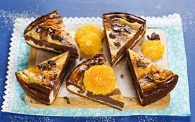 Обои десерт, пирог, Чизкейк, салфетка, Cheesecake
