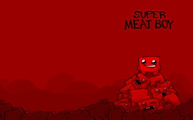 Обои super, boy, meat