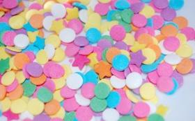 Обои звезды, круги, розовый, кружочки, звездочки, разное, цветное