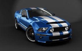 Обои Mustang, тюнинг, автомобиль