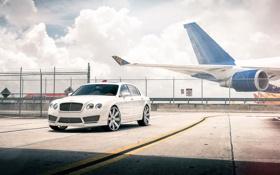 Картинка car, авто, тюнинг, седан, бентли, Bentley Continental Flying Spur