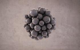 Картинка шарики, фон, текстура