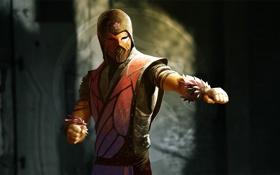 Картинка mortal kombat, ninja, fan art, phlox
