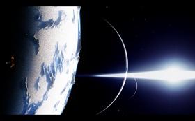 Картинка холод, звезды, свет, мрак, планеты