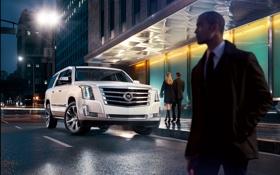 Картинка Cadillac, Escalade, кадиллак, 2014, ESV