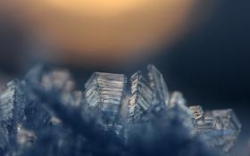Картинка лёд, кристалы, минерал, Icy
