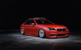 Обои Катки, BMW, Бумер, Tuning, Тюнинг, Красный, Vossen