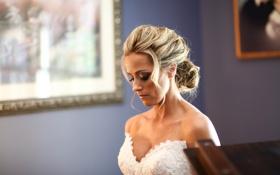 Картинка девушка, блондинка, невеста