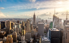 Обои New York, buildings, metropolis