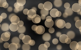 Обои круги, абстракция, узоры, circles, patterns, боке, bokeh