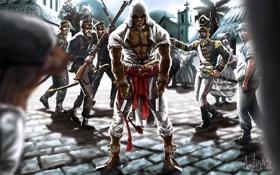 Картинка люди, арт, солдаты, assassins creed, art, ассасин, brazil
