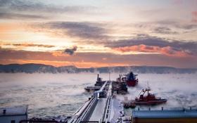 Картинка Природа, Зима, Море