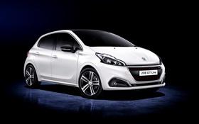 Картинка Peugeot, пежо, 5-door, 208, 2015
