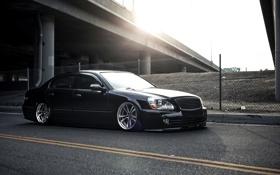 Обои Черный, Машина, Тюнинг, Infiniti, Car, Инфинити, Автомобиль
