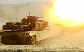 Обои оружие, танк, M1A1 Abrams