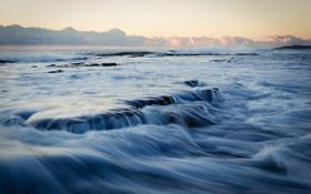 Картинка море, небо, потоки